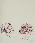 ADAMI Valerio - Ink on paper