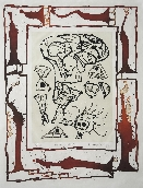 ALECHINSKY Pierre - Etching and aquatint