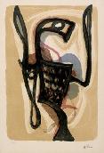 ATLAN Jean-Michel - Lithographie originale