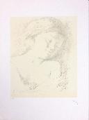 BALTHUS  - Lithographie originale