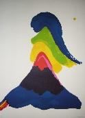 BELLEGARDE Claude - Lithographie originale