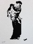 BLEK LE RAT  - S�rigraphie