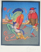 CHEMIAKIN Mihail - Lithographie originale