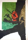 CLAVE Antoni - Gravure au carborundum