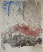 COCTEAU Jean - Lithographie rehauss�e