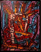 COMBAS Robert - Acrylique sur toile