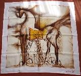 DALI Salvador - Serigraphie sur tissu