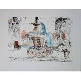 DALI Salvador - Lithographie d'apr�s aquarelle