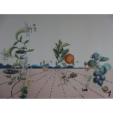 DALI Salvador - Lithographie en relief