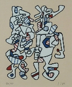 DUBUFFET Jean - S�rigraphie