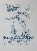 FASSIANOS Alexandre - Eau-forte et aquatinte