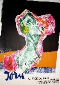 JORN Asger - Affiche tir�e en lithographie
