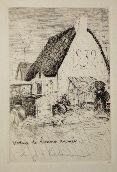 LABOUREUR Jean-Emile - Dry point