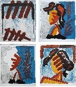 LAFABRIE Bernard Gabriel - Livre d'artiste avec lithographies