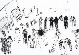 LAVANT Cham - Encre pigmentaire