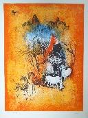 LEBADANG HOI  - Lithographie