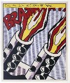 LICHTENSTEIN Roy - Lithographie