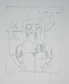 LINDNER Richard - Lithographie