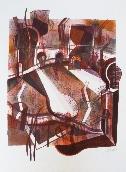 MACOTELA Gabriel - Lithographie originale