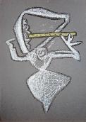 MATTA Roberto - Affiche tir�e en lithographie