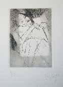 MESSAGIER Jean - Etching