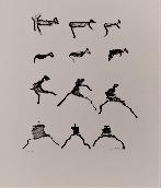 MICHAUX Henri - Lithographie