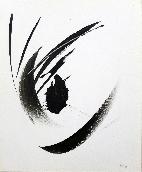 MIOTTE Jean - Acrylique sur papier