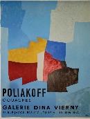 POLIAKOFF Serge - Affiche tir�e en lithographie