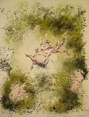 SEARLE Ronald - Lithographie originale