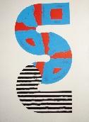 SUGAI Kumi - Lithographie avec gaufrage