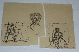 TAL-COAT Pierre - Ink on paper