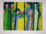 TING Walasse - Original lithograph