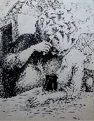 TOPOR Roland - Encre de chine