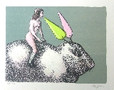 TOPOR Roland - Lithographie originale