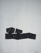 UBAC Raoul - Empreinte d'ardoise grav�e