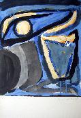 VAN VELDE Bram - Lithographie originale