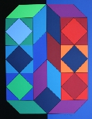 VASARELY Victor - S�rigraphie