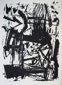 VEDOVA Emilio - Lithographie originale