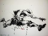 VELICKOVIC Vladimir - Lithographie